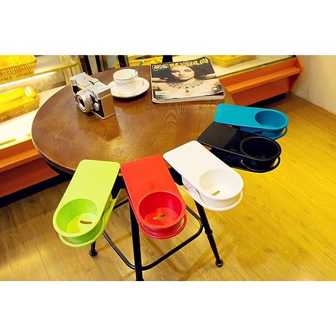 lohome® portavasos, Café Botella de agua de soda (Clip de edage de la mesa DIY abrazadera de cristal: Amazon.es: Hogar