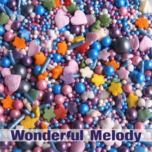 Wonderful Melody Gluten GMO Nut Dairy Soy Free Cake Decoration Bulk Pack. Melody Dessert
