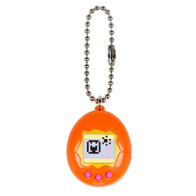 Tamagotchi Mini, Orange/Yellow/Pink: Toys & Games