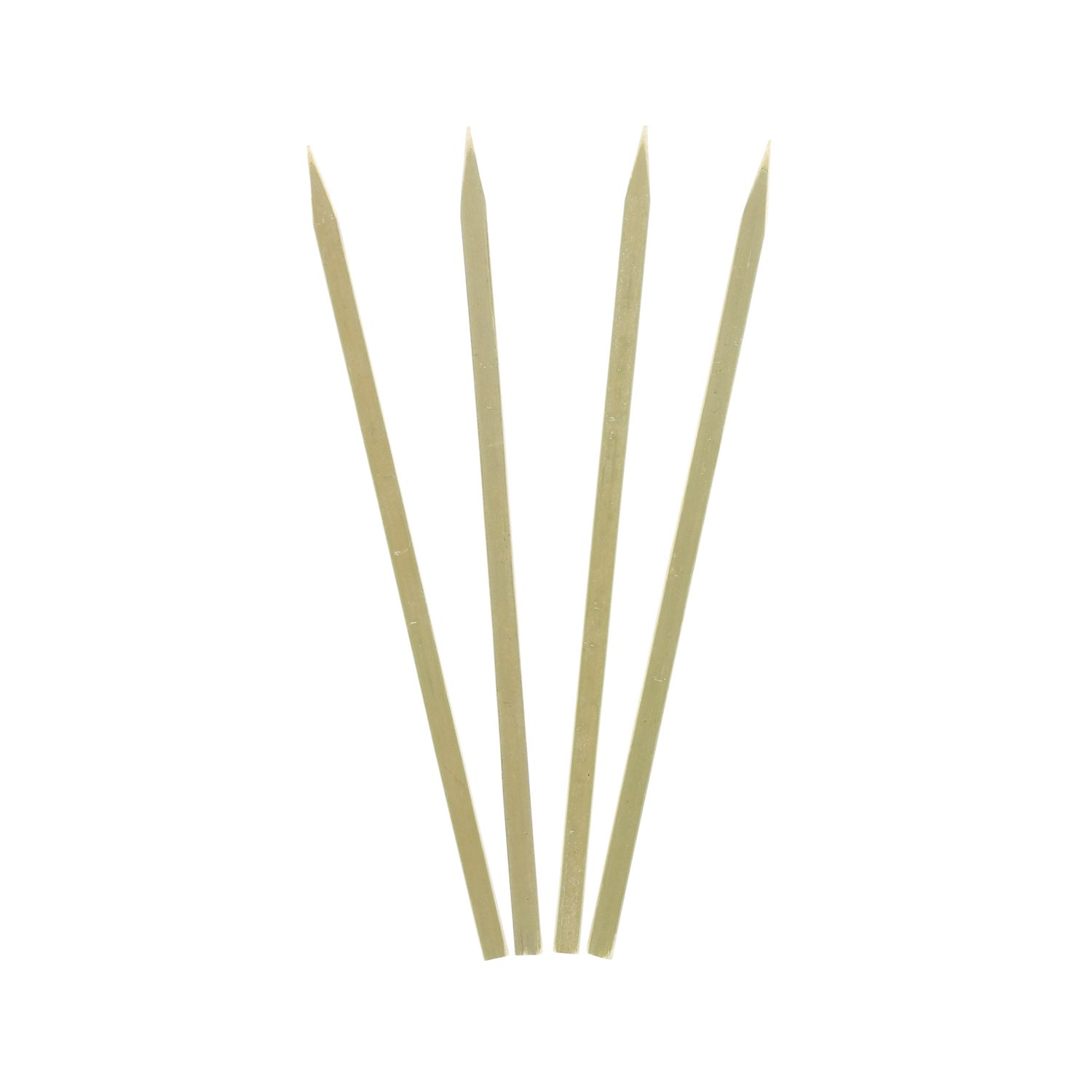 Royal Bamboo 7'' Flat Skewers for Grilling, Satay, and Skewered Vegetables, Case of 3,000