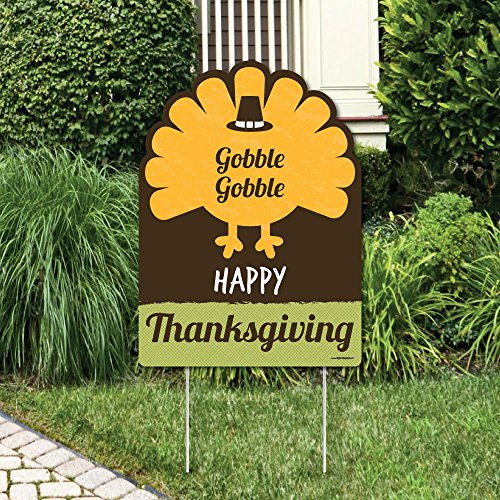Big Dot of Happiness Happy Turkey Day -