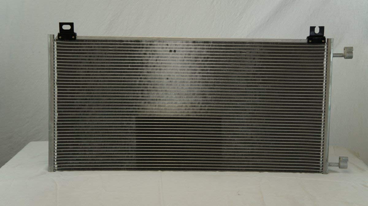 US Delivery All Aluminum Condenser 1 Row For Cadillac Escalade Silverado Tahoe Yukon Made In China
