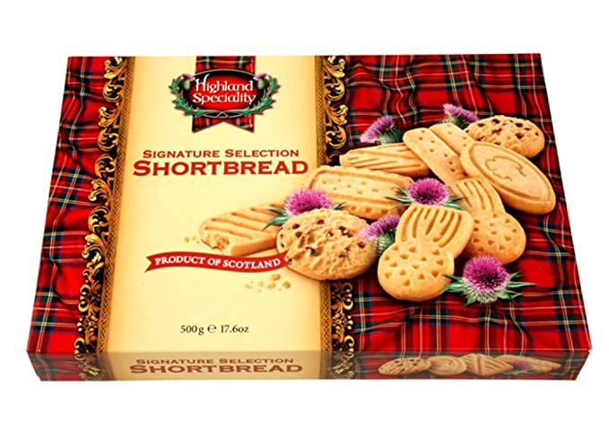 Highland Speciality Selection Shortbread Galletas de Mantequilla - 500 gr