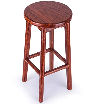 Surprising Amazon Com Qyszyg Solid Wood Bar Stool Coffee Stool Gmtry Best Dining Table And Chair Ideas Images Gmtryco