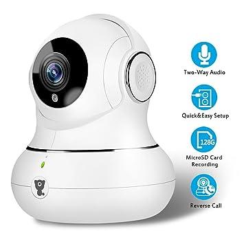 Caméra IP Full HD Littlelf, Camera de Surveillance Intérieur, Sans ...