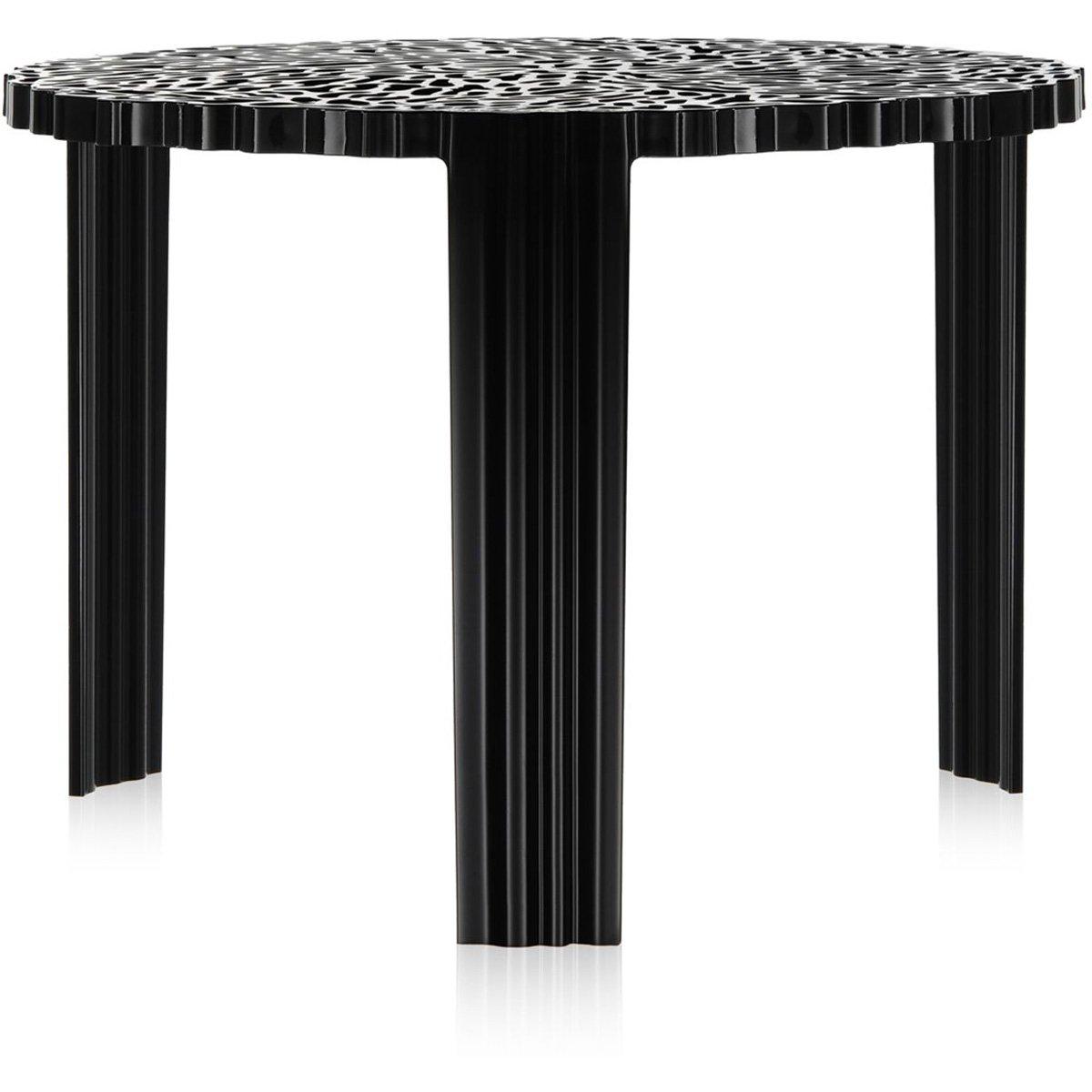Kartell T-Table Tavolino, Ambra, 50ⵁx28 cm 50ⵁ x28 cm 8500/AM