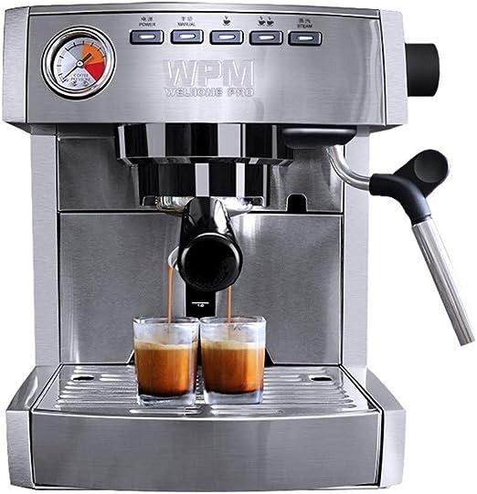 XXJF Cafetera italiana semiautomática 15Bar Extracción de alta ...