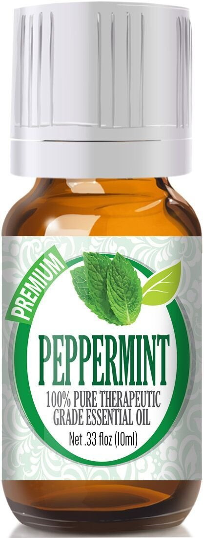Peppermint - 100% Pure, Best Grade Essential Oil - 10ml