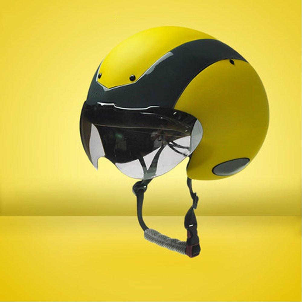 マウンテンバイク乗馬ヘルメットゴーグル1サイトレーシング多目的ロードバイクの男性と女性の帽子   B07CM5YP6K
