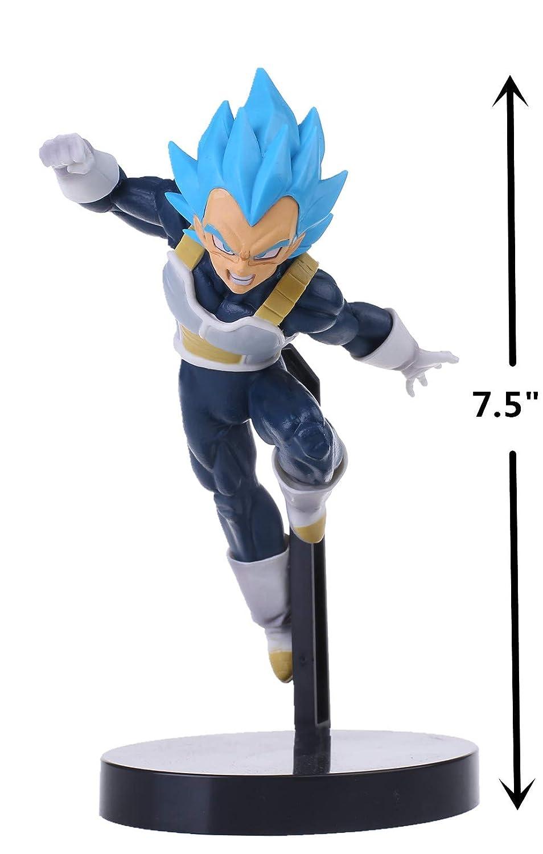 KELAKE Dragon Ball Z Actions Figures DBZ Super Saiyan Blue Ssjss Vegeta Action Figure Statue Fugurine Model Doll Collection Birthday Gifts PVC 75 With