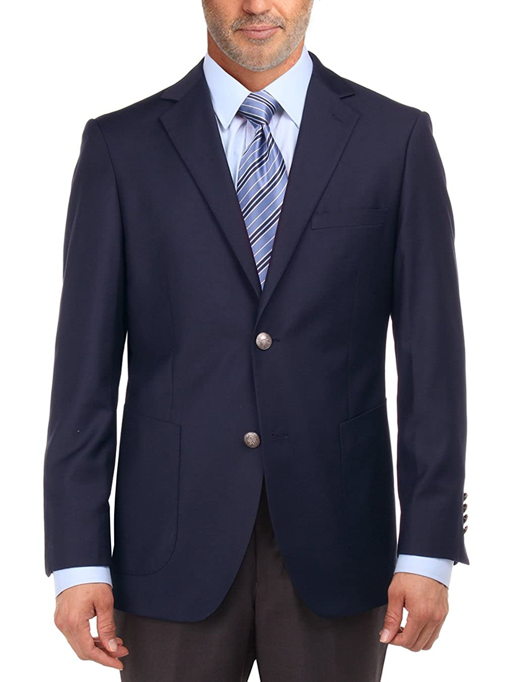 Salvatore Exte Men's 2 Button Suit Separate Jacket Sport Coat Blazer