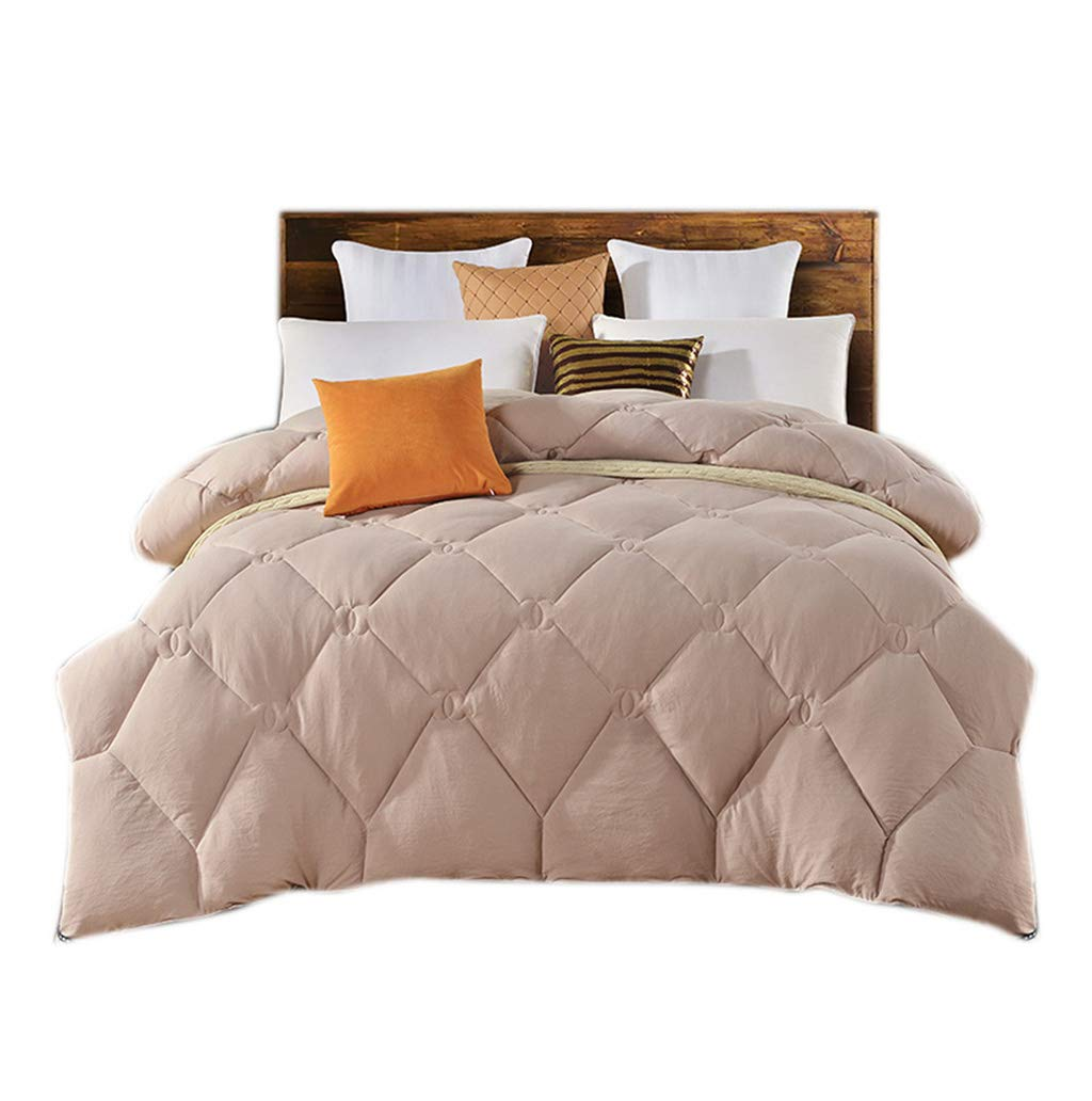 老人の掛けふとん、正方形の寮の部屋の学生のピンクのエアコンの掛けふとんの世帯のホテルの屋外の昼休みの多機能毛布 (色 : Brown, サイズ さいず : 150*200cm-2.5kg) B07MN5GL7X Brown 150*200cm-2.5kg