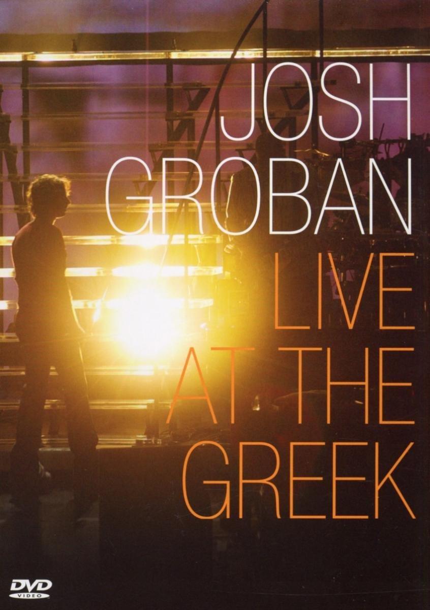 Josh Groban: Live at the Greek Warner 75993862423 Pop Vocals Concerts