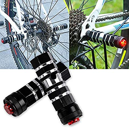 Sorliva - Reposapiés para bicicleta (aleación de aluminio, incluye ...