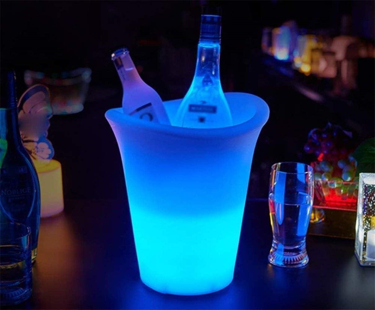 Barril De Roble Cubos De Hielo Cubo De Hielo Luminoso Led Bar ...