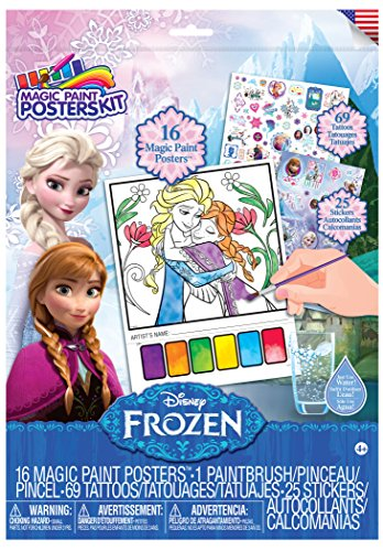 Savvi Disney Frozen Magic Paint Poster Kit