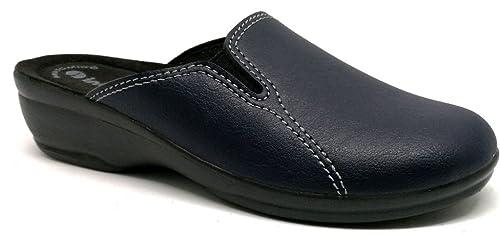 Zapatillas de Blu Inblu 63 mujer ArtBj Zapatillas Ecopelle invierno para E9eHbIDYW2
