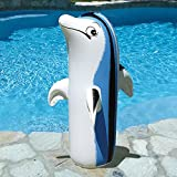 "36"" Inflatable Adorable Dolphin Swimming Pool and Spa Accessory"