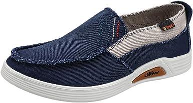 Men's Breathable Canvas Shoes Casual