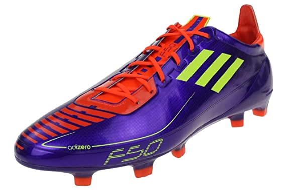 6e4a264ccfb F50 adizero TRX FG Football Boots Anodized Purple Electricity Infrared   Amazon.co.uk  Clothing