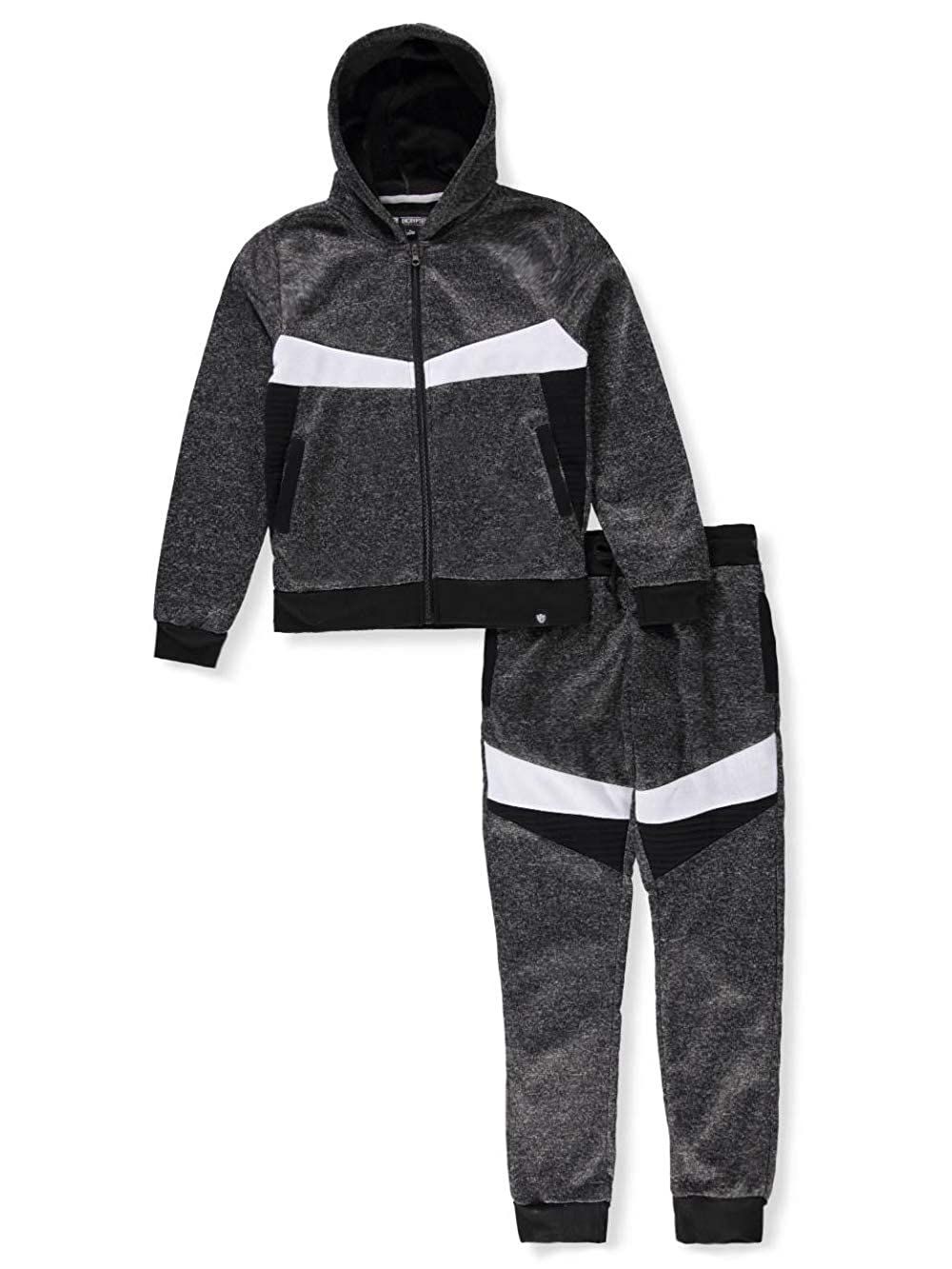 Encrypted Boys' 2-Piece Sweatsuit Pants Set