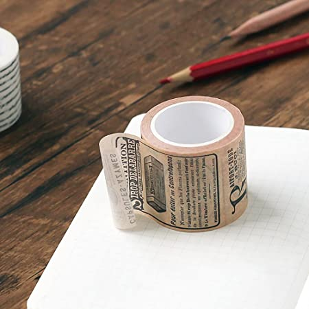 Buyanputra Vintage Washi Tape Paper Masking Tape DIY Adhesive Notebook Scrapbook Stickers