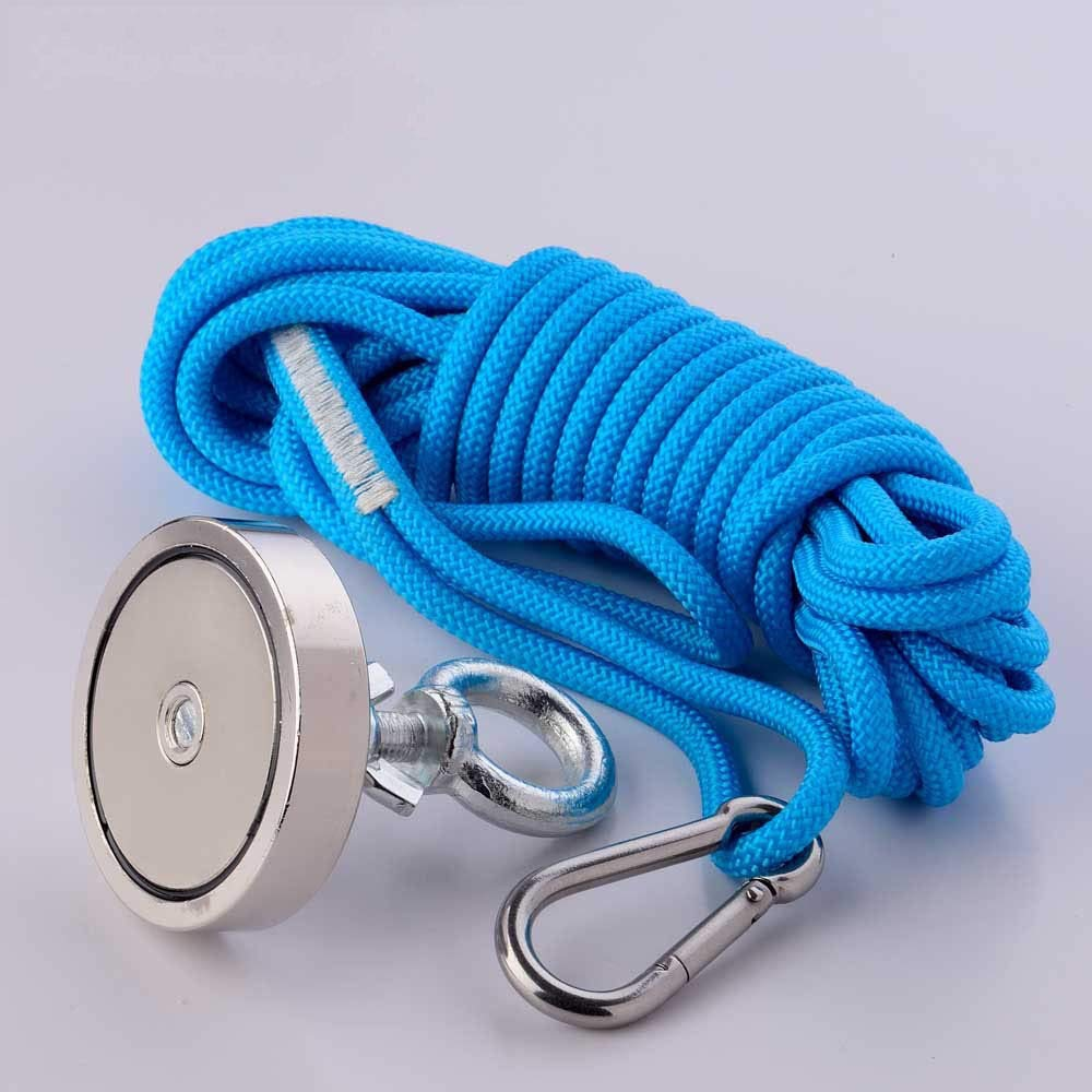 Magnet Rope 150kg - Super Powerful Neodymium Strong Magnet Salvage Imanes Fishing Magnets Treasure Magnetic Material