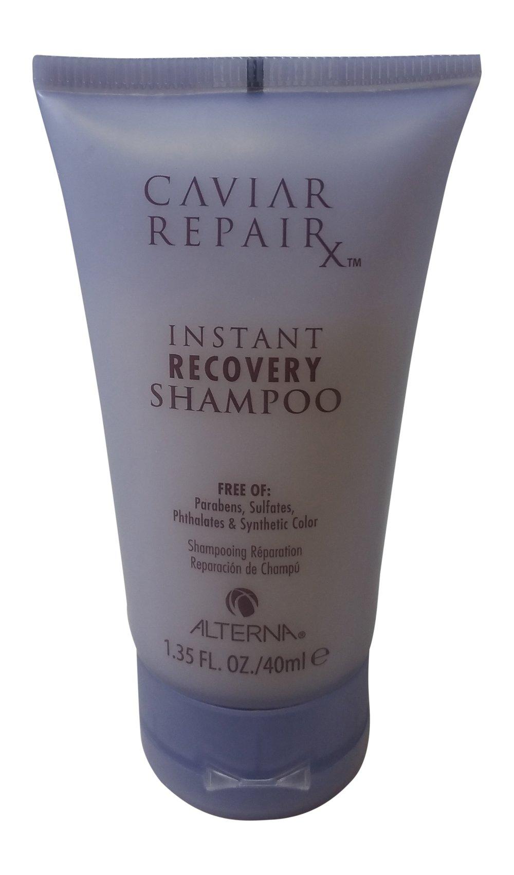 Alterna Caviar Repair Travel Trio: Instant Recovery Shampoo & Conditioner & Re-Texturizing Protein Cream 1.35 oz each by Alterna (Image #4)