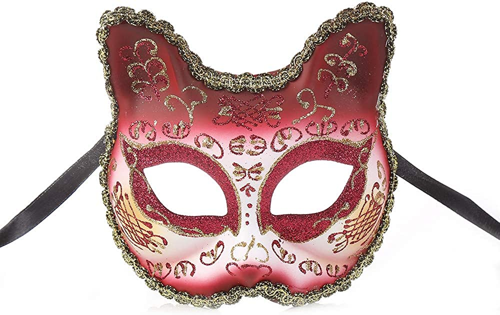 BLEVET Venetian Masquerade Masks for Child for Party Ball Prom Wedding Wall Decoration BK010