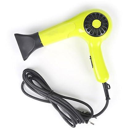 Secador de pelo Alta Potencia 1350 W Ultra silencioso peluquería Estereotipos hogar Ventilador de Aire Caliente