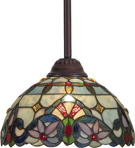 Capulina Tiffany Kitchen Counter Lighting 12 Inch Wide Tiffany Ceiling Lights Tiffany Style Hanging Chandeliers, Tiffany Style Pendant Chandelier, Tiffany Style Pendant Lamp Shade