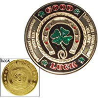 Hand Painted Poker Card Guard Protector - Good Luck