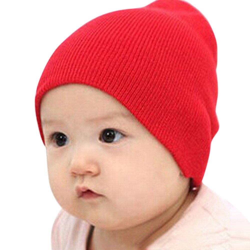 LOPILY Sombrero Suave para niños Invierno Cálido Gorra Infantil ...