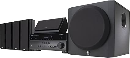 Amazon.com: Yamaha YHT-797 5.1-Channel Network Home Theater System ...