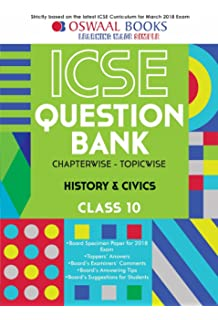 Oswaal icse question bank chapterwise english lang i for class 10 oswaal icse question bank chapterwise history and civics for class 10 old edition fandeluxe Gallery