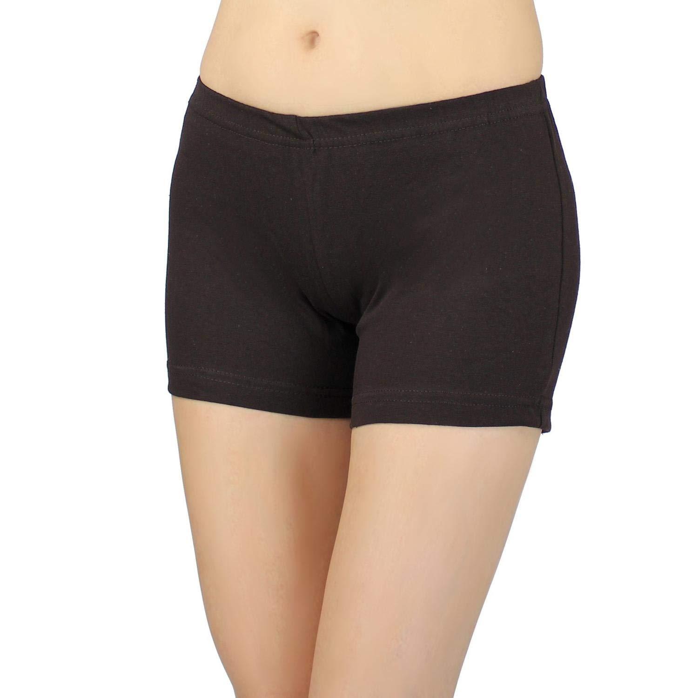 Cortocircuitos Hot Pants Pantal/ón corto de algod/ón Pantalones Cortos de Verano Deportivo Colorido para Mujer