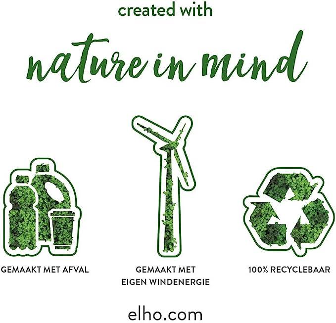 Anthracite Planteur Ext/érieur /& Balcon L 16.5 x W 39 x H 13.7 cm Elho Green Basics Balconni/ère 40