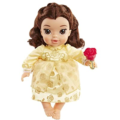 Disney Beauty and The Beast Live Action Baby Belle Doll: Toys & Games