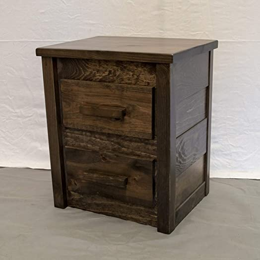 Rustic Farmhouse 2 Drawer Dresser/Wood Reclaimed Dresser/Modern/Urban/Cottage Dresser