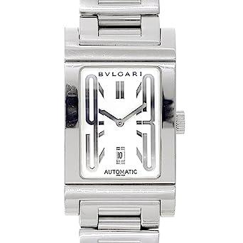 best website ab678 8d857 Amazon   ブルガリ レッタンゴロ RT45S メンズ 腕時計 オートマ ...
