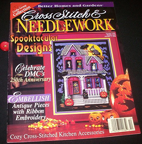 Cross Stitch & Needlework Magazine, October 1996, Volume 12,