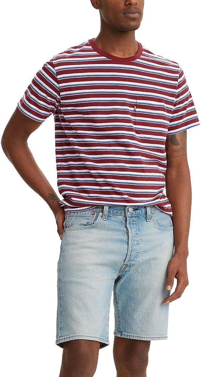 1940s Men's Shirts, Sweaters, Vests Levis Mens Classic Pocket Tee  AT vintagedancer.com