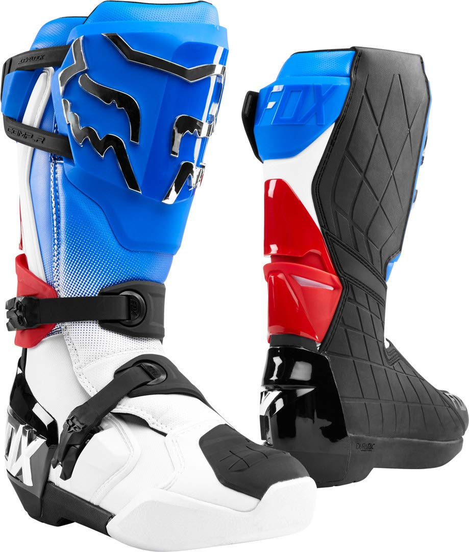 Fox Racing 2020 Comp R Boots 12 Blue//RED