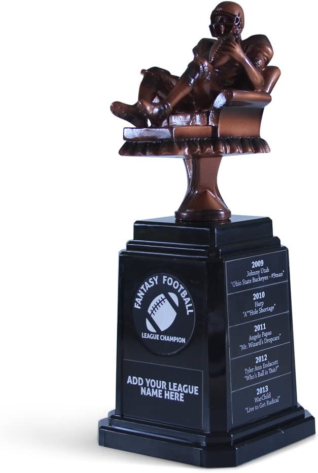 Amazon Com Fantasyjocks Fantasy Football Championship Trophy