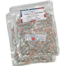 100cc Oxygen Absorbers for Dehydrated Food and Emergency Long Term Food Storage - (2) Packages of 100