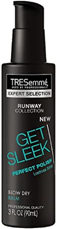 TRESemme Expert Selection Runway Collection Get Sleek Perfect Polish Blow Dry Balm 3 oz Pack of 4