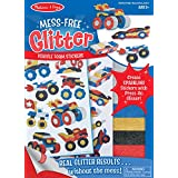 Melissa & Doug Mess Free Glitter Vehicle Foam Stickers