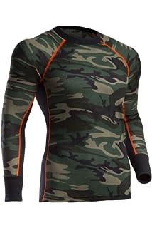 865 Indera Mens Long Sleeve Union Suit