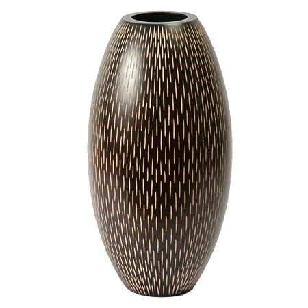 Thai Mango Wood Vases Rain Shower Amazon Kitchen Home