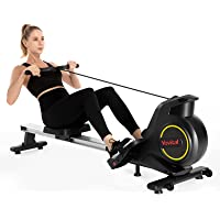 Yovital Rowing Machines for Home Use Foldable, Rowing Machine Rower Exercise Equipment, Row Machine 8 Level Adjustable…